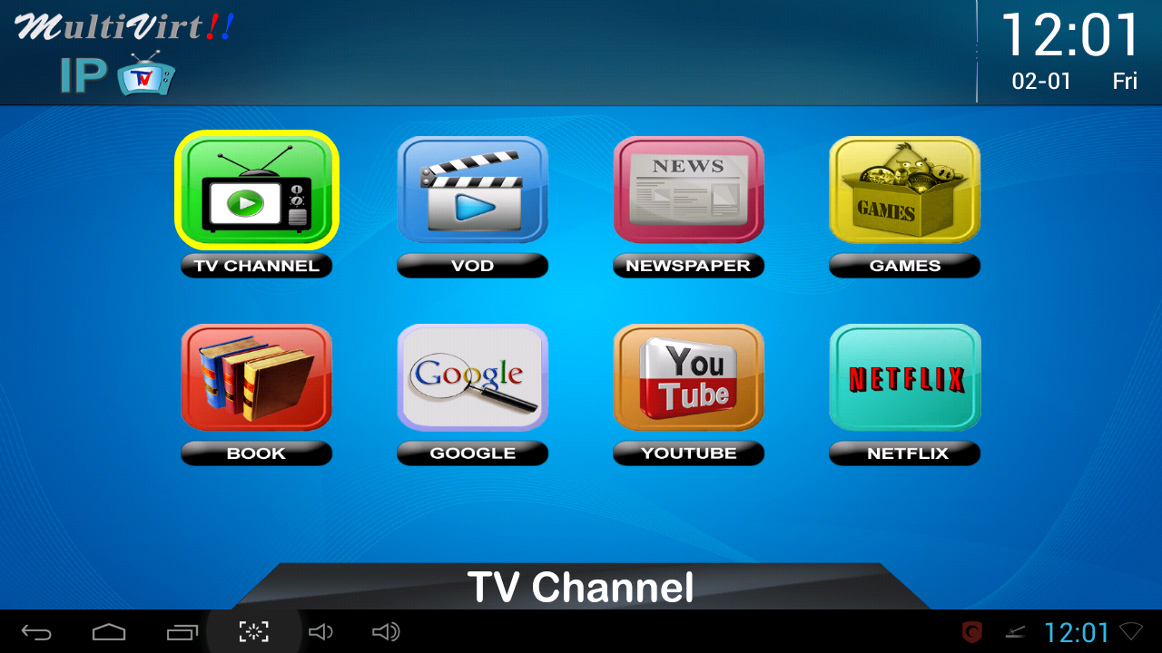 IPTV/Multivirt